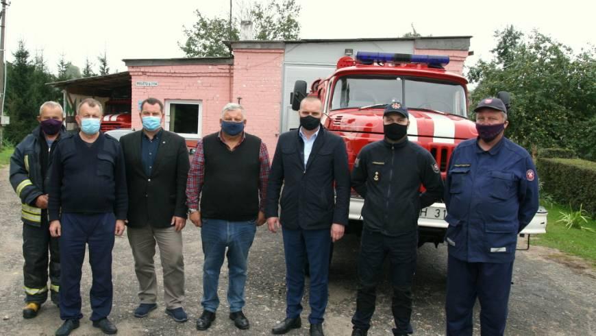 Dėmesys priešgaisrinės tarnybos materialinei būklei